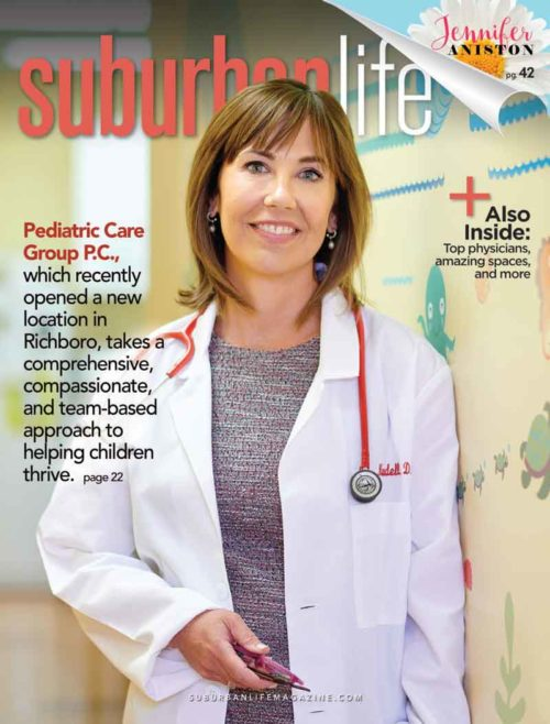 Dr. Marylee Mundell on the cover of Suburban Life Magazine